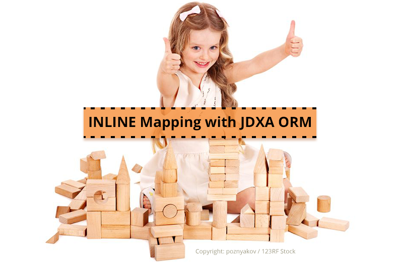 INLINE Mapping with JDXA ORM